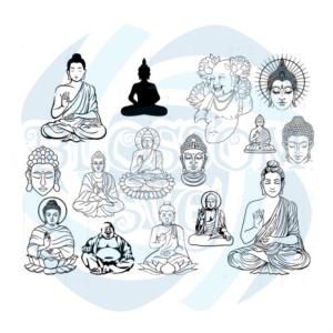 Buddhism Bundle Svg, Belief Svg, Blessed Svg, Love Svg, Grateful Svg,