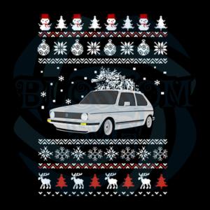 Car Christmas Decoration Svg, Vehicle Svg, Snowman Svg, Car Svg, Pine