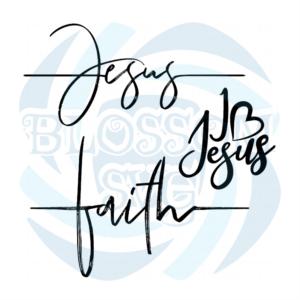 Faith Hand Written Vector Calligraphy Lettering svg, Belief Svg