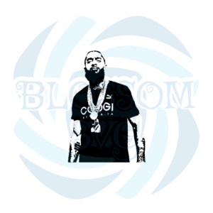 Nipsey Hussle svg Famous People Svg, Idol Svg, Known People Svg