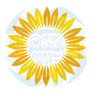Sun Symbol Sunflower Logo Svg, Flower Svg, Sun Svg, Sun Symbol Svg,