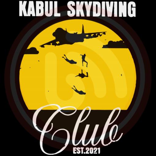 Kabul skydiving club design svg tb210821dt05