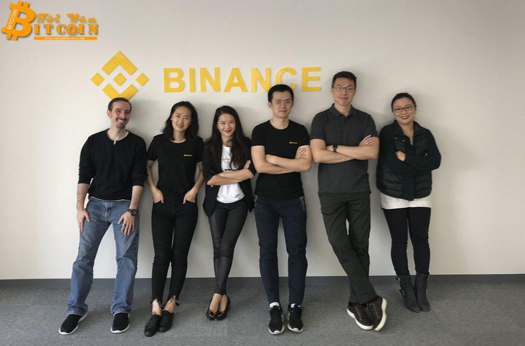 90% nhân viên của Binance nhận lương bằng BNB