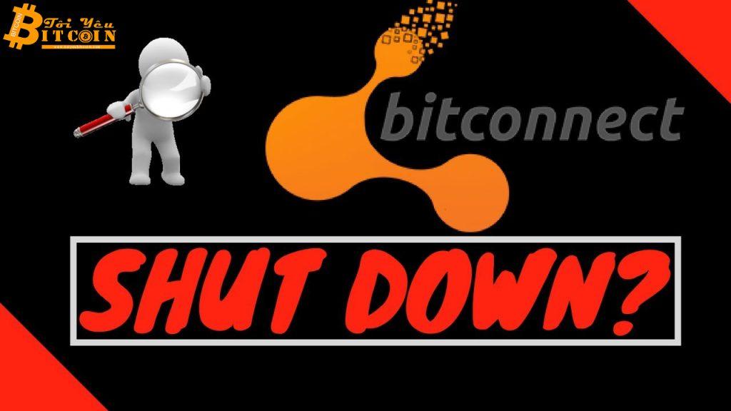 BitConnect sắp sửa bị huỷ niêm yết khỏi sàn giao dịch cuối cùng