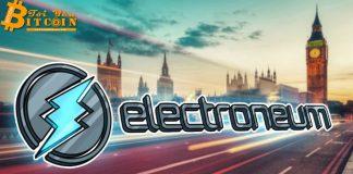 Mặc khối lượng giao dịch thấp, Electroneum (ETN) vẫn tăng vọt 50%