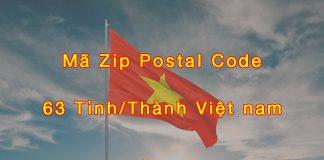 Zip code Việt Nam