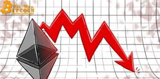 Ethereum giảm sâu dưới mức $199,60 – Lao dốc 9,12%