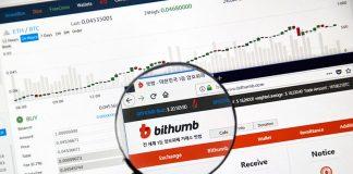 Khối lượng giao dịch trên Bithumb được ghi nhận là hoàn toàn giả mạo.