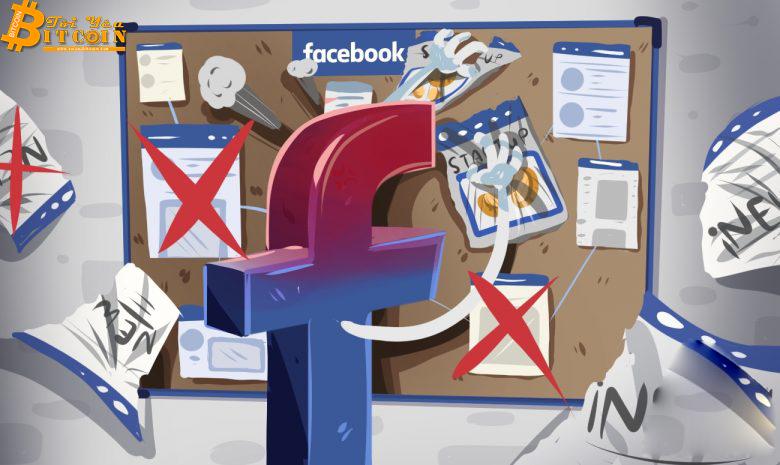 Facebook đột ngột siết chặt lại các quảng cáo liên quan đến tiền điện tử