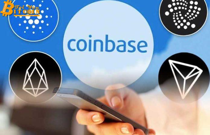 Coinbase xác nhận kế hoạch bổ sung TRX và XRP