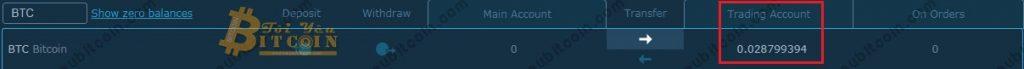 Mua bán Coin trên HitBTC. Ảnh 3