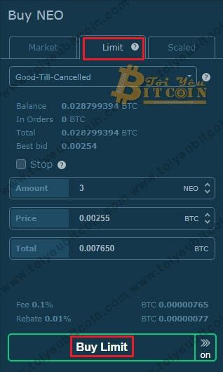Mua bán Coin trên HitBTC. Ảnh 6