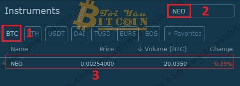 Mua bán Coin trên HitBTC. Ảnh 5