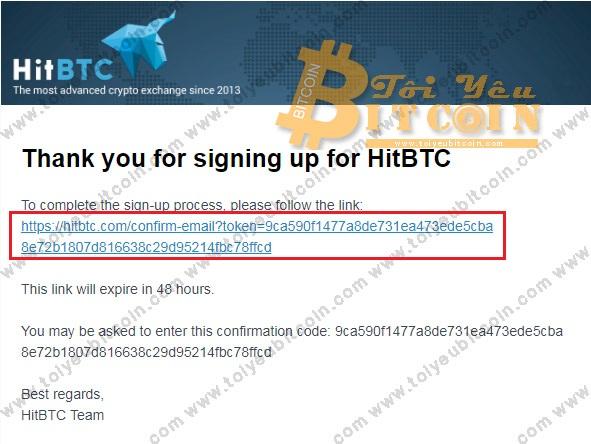 Đăng ký tài khoản HitBTC. Ảnh 3