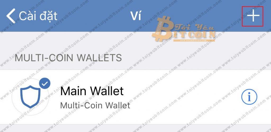 Tạo địa chỉ ví mới trên Trust Wallet. Ảnh 2