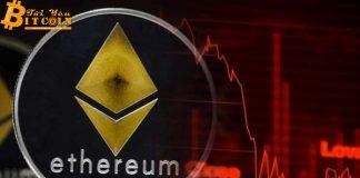 Phí giao dịch Ethereum giảm, số lượng giao dịch tăng