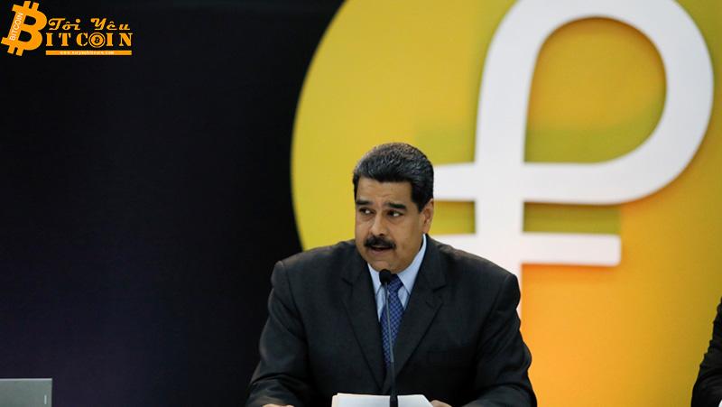 Tổng thống Maduro: Đồng Petro của Venezuela sẽ được mở bán vào tháng 11