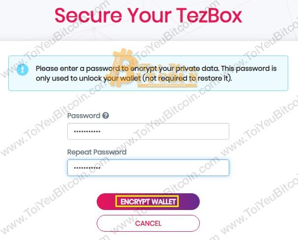 Khôi phục ví TezBox. Ảnh 4