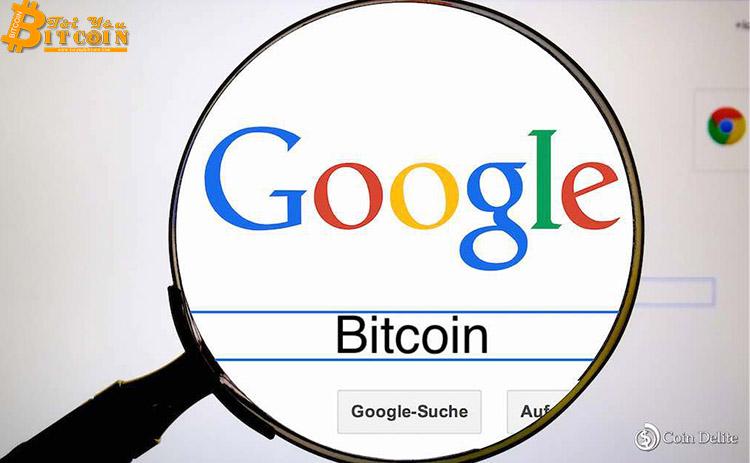 """Số lần tìm kiếm từ khóa """"Bitcoin"""" trên Google vừa đạt con số kỉ lục"""
