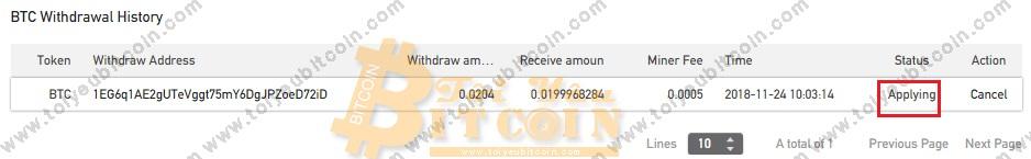 Rút tiền từ sàn BitForex. Ảnh 8