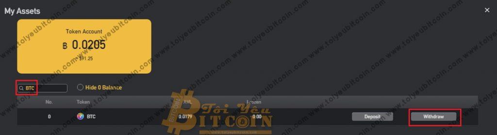 Rút tiền từ sàn BitForex. Ảnh 2