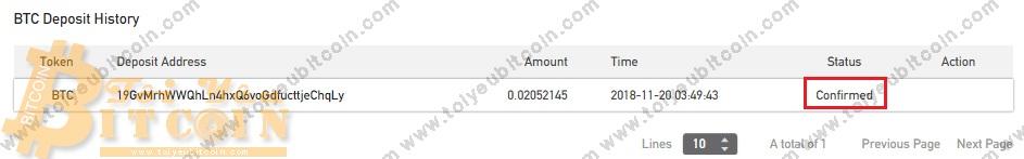 Nạp tiền vào BitForex. Ảnh 4