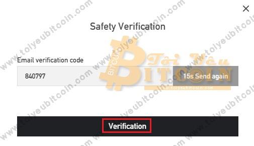 Bảo mật tài khoản BitForex. Ảnh 7