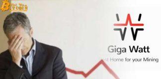 Công ty đào Bitcoin Giga Watt phá sản