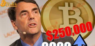 Tim Draper tiếp tục kiên định với dự đoán giá Bitcoin 250.000 USD