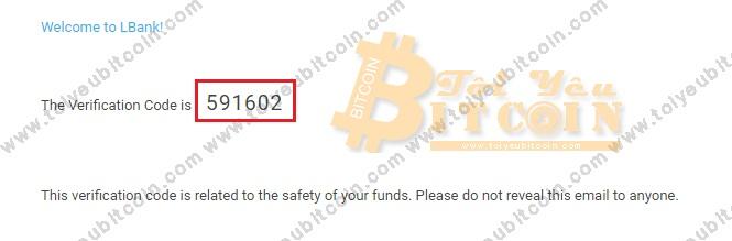 Đăng ký mở tài khoản LBank. Ảnh 3