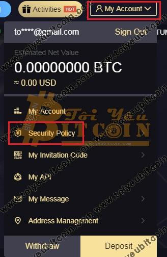 Bảo mật 2FA cho LBank. Ảnh 1