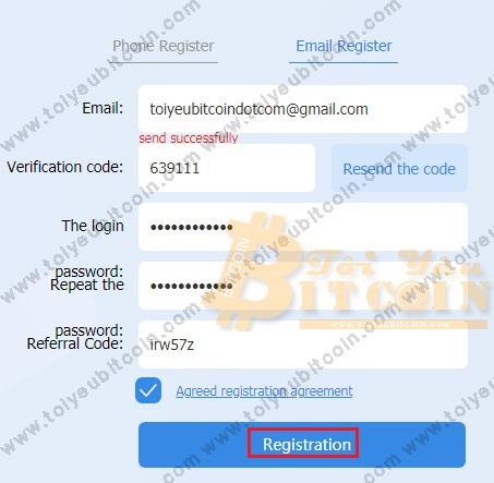 Đăng ký mở tài khoản DigiFinex. Ảnh 4
