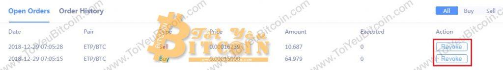 Cách trade coin trên sàn RightBTC. Ảnh 6