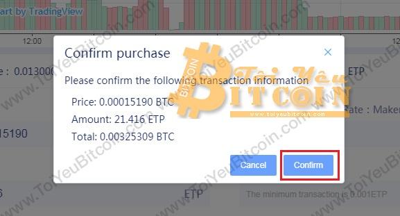 Cách trade coin trên sàn RightBTC. Ảnh 4
