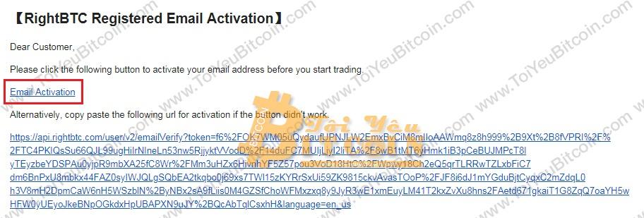 Đăng ký tạo tài khoản RightBTC. Ảnh 3