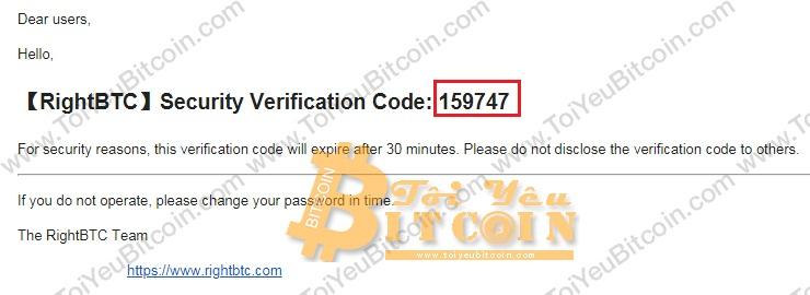 Bảo mật 2FA cho RightBTC. Ảnh 3