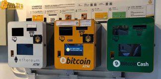 Trung bình một ngày có sáu máy ATM tiền mã hóa xuất hiện