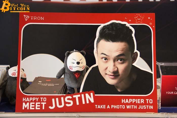 """Justin Sun: """"TRON sẽ là vị cứu tinh của các dApp khỏi ngày tàn của Ethereum và EOS"""""""