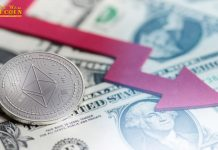 Giá Ethereum giảm về 13 USD trên Coinbase