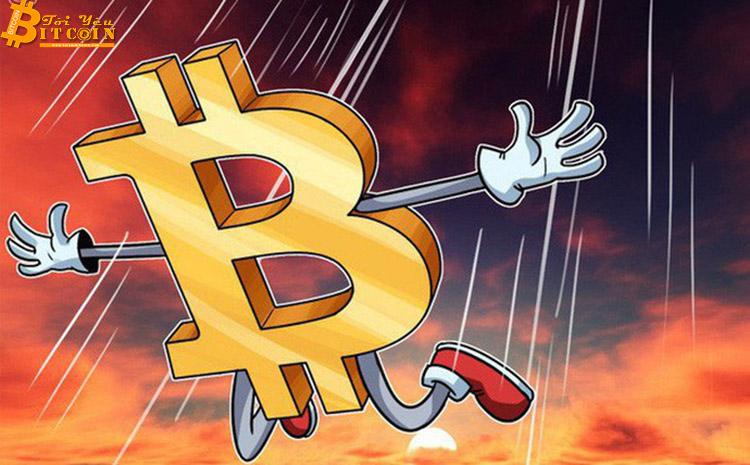 """""""Giá Bitcoin sẽ còn 'gãy' về $1,500"""""""