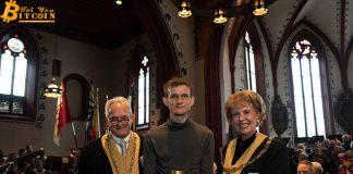 Vitalik Buterin được Đại học Basel trao tặng bằng tiến sĩ danh dự