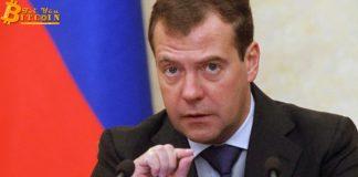 """Dmitry Medvedev: Thị trường suy giảm chẳng nên là lý do để """"chôn vùi"""" tiền điện tử"""