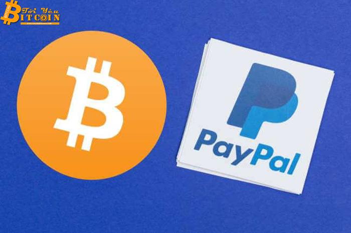 """Bitcoin """"đánh bại"""" PayPal về khối lượng giao dịch hàng năm"""