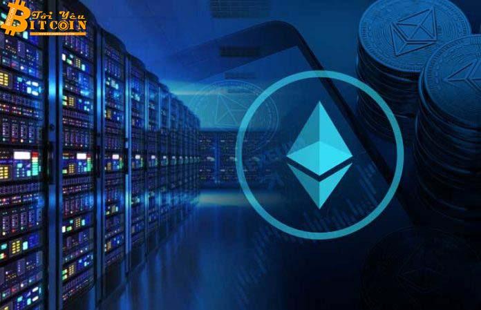 Sản lượng Ethereum được đào lên sụt giảm về mức thấp chưa từng thấy