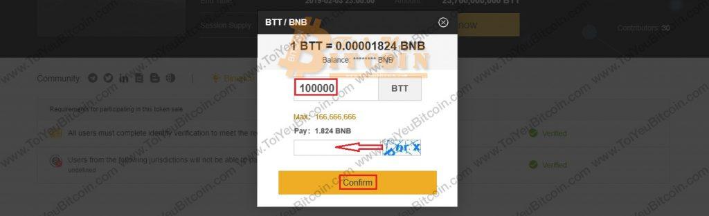 Cách mua token trên Binance Paunchpad. Ảnh 5