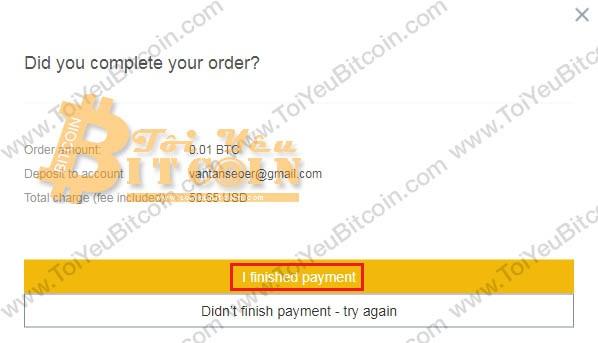 Mua coin bằng thẻ tín dụng Visa/MasterCard trên Binance. Ảnh 10