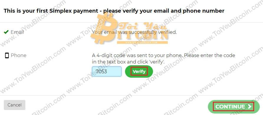Mua coin bằng thẻ tín dụng Visa/MasterCard trên Binance. Ảnh 6