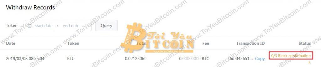 Cách rút tiền từ sàn BitMax. Ảnh 3