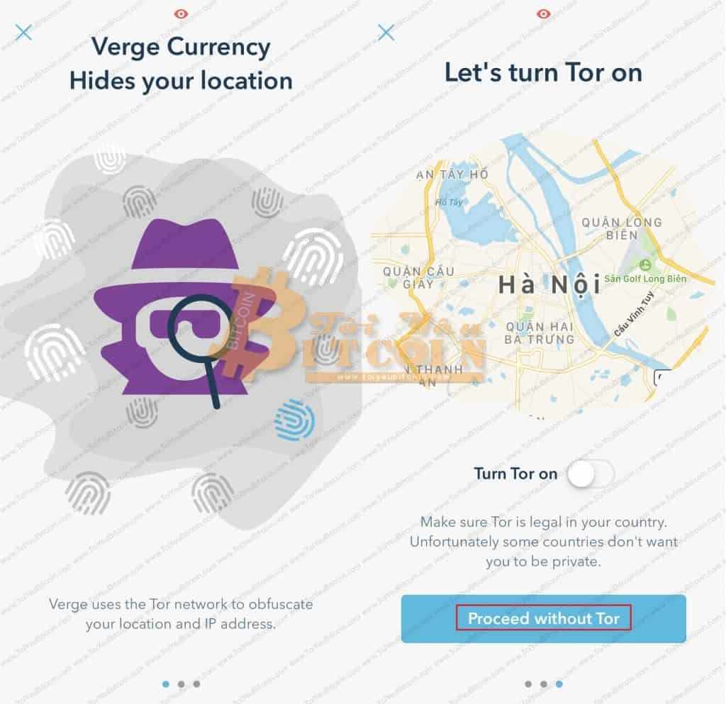 Cách tạo vi Verge coin trên điện thoại. Ảnh 10