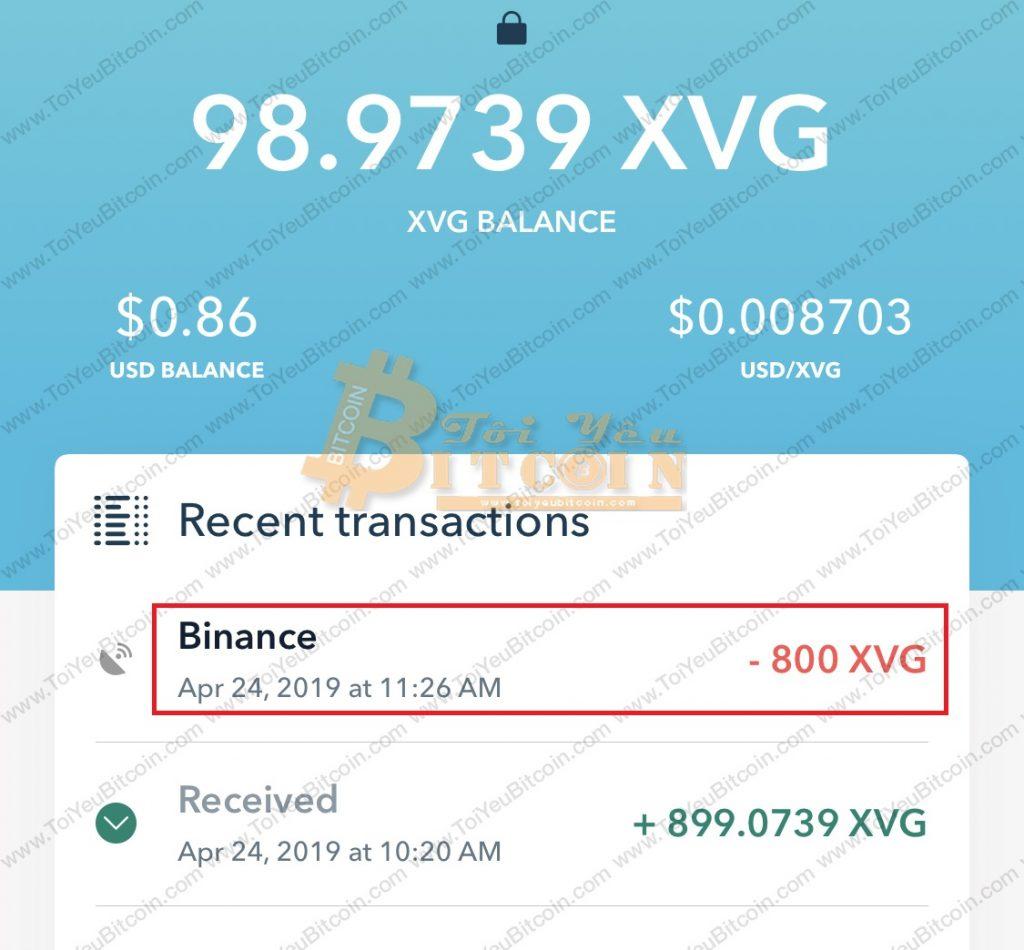 Cách rút tiền từ ví Verge Tor. Ảnh 6